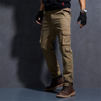 Male Fashion Streetwear Joggers Pants hombre Japanese Style Punk Trousers Hip Hop Pants Loose Fit Multi Pockets Cargo Pants