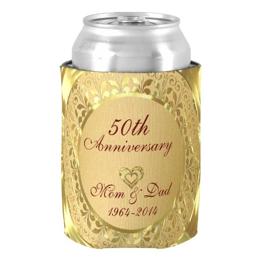 Aliexpress.com : Buy Sparkling Gold 50th Wedding Anniversary Can ...