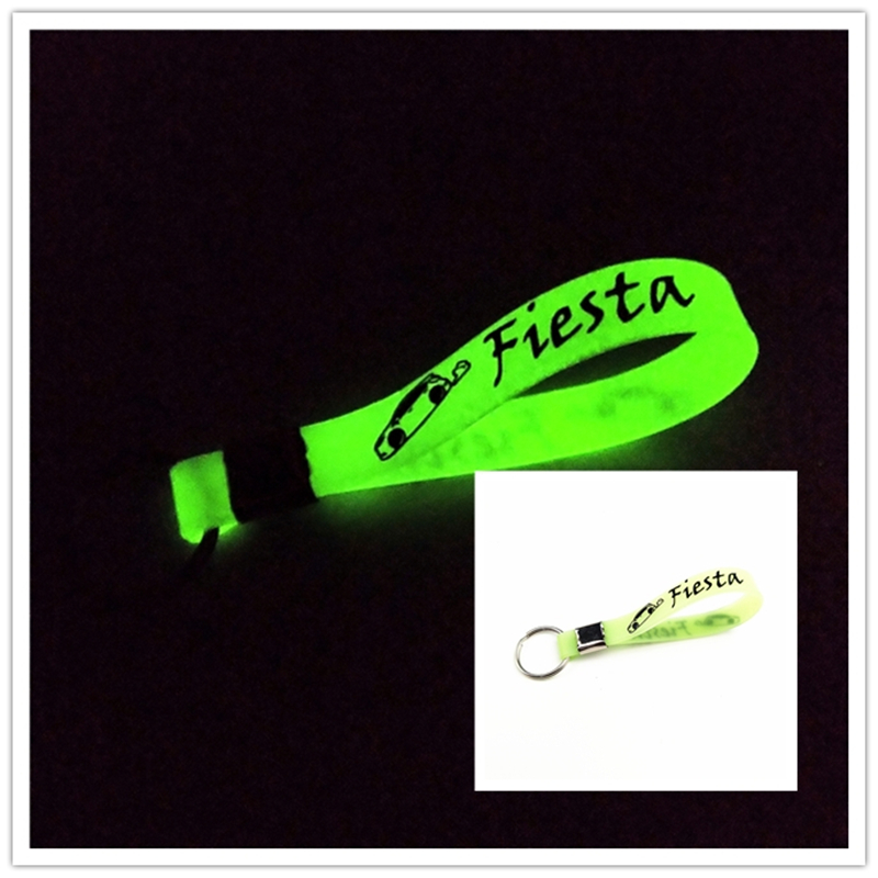 Luminous Car <font><b>keyring</b></font> Car Case for <font><b>FORD</b></font> Fiesta <font><b>st</b></font> car accessories Motorcycle Automobiles car styling image