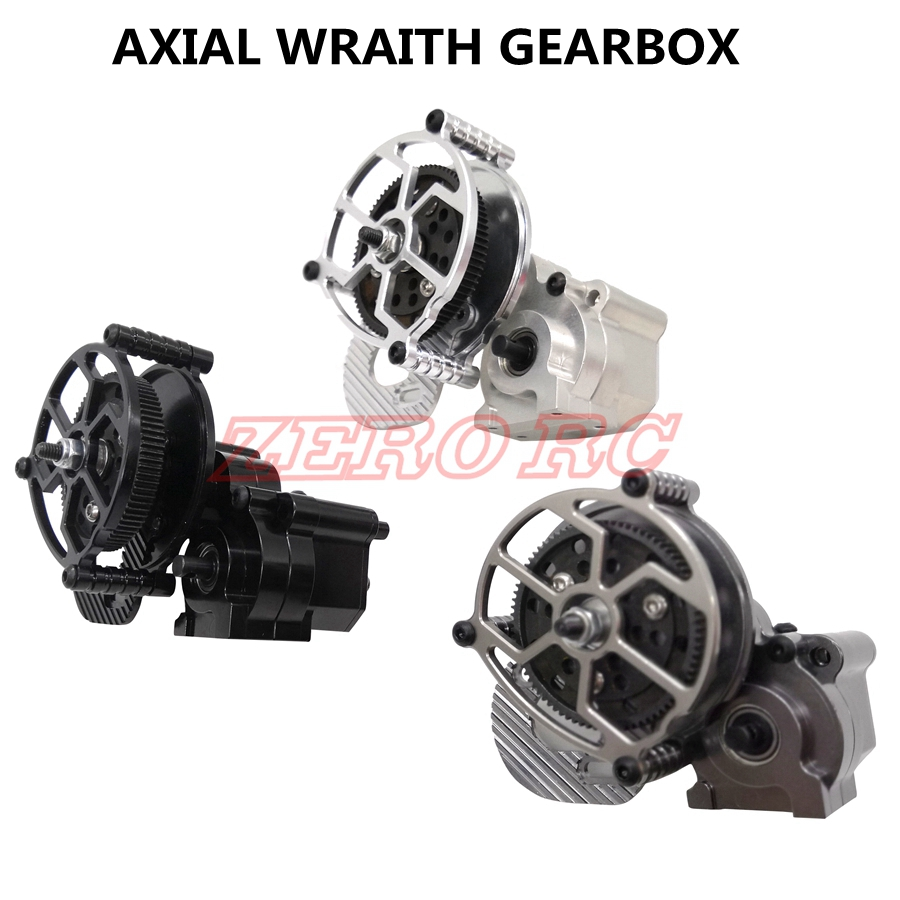 AXIAL WRAITH RC TRUCK FULL METAL ASSEMBLED GEARBOX CENTER TRANSMISSION WITH STEEL GEAR SET