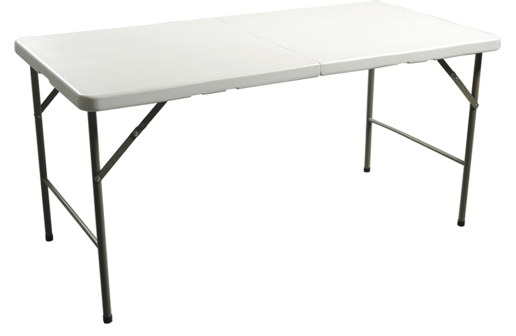 HDPE folding table for hotels restaurant home and outdoor hdpe 6ft folding table 183cm plastic