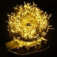 Barato 100 m 800 LED cadena luz boda fiesta Navidad árbol jardín decoración exterior CA 220