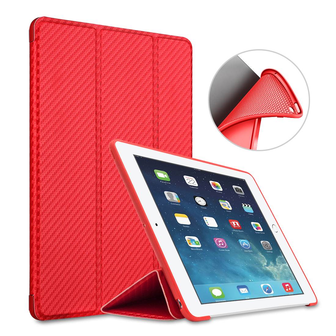 For iPad Pro 10.5 Case Magnetic Case Silicone Soft Back Trifold Stand PU Leather Cover for iPad Pro 10.5 inch 2017 Auto Wake soft silicone tpu translucent back cover for ipad mini 4 mini4 trifold stand smart auto on off premium pu leather slim fit case