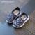 CCTWINS NIÑOS 2017 Otoño del Resorte del Cabrito Malla Parche Chico de Zapatillas niños Slip On shoes Moda Marca Niña Niño Deporte plana