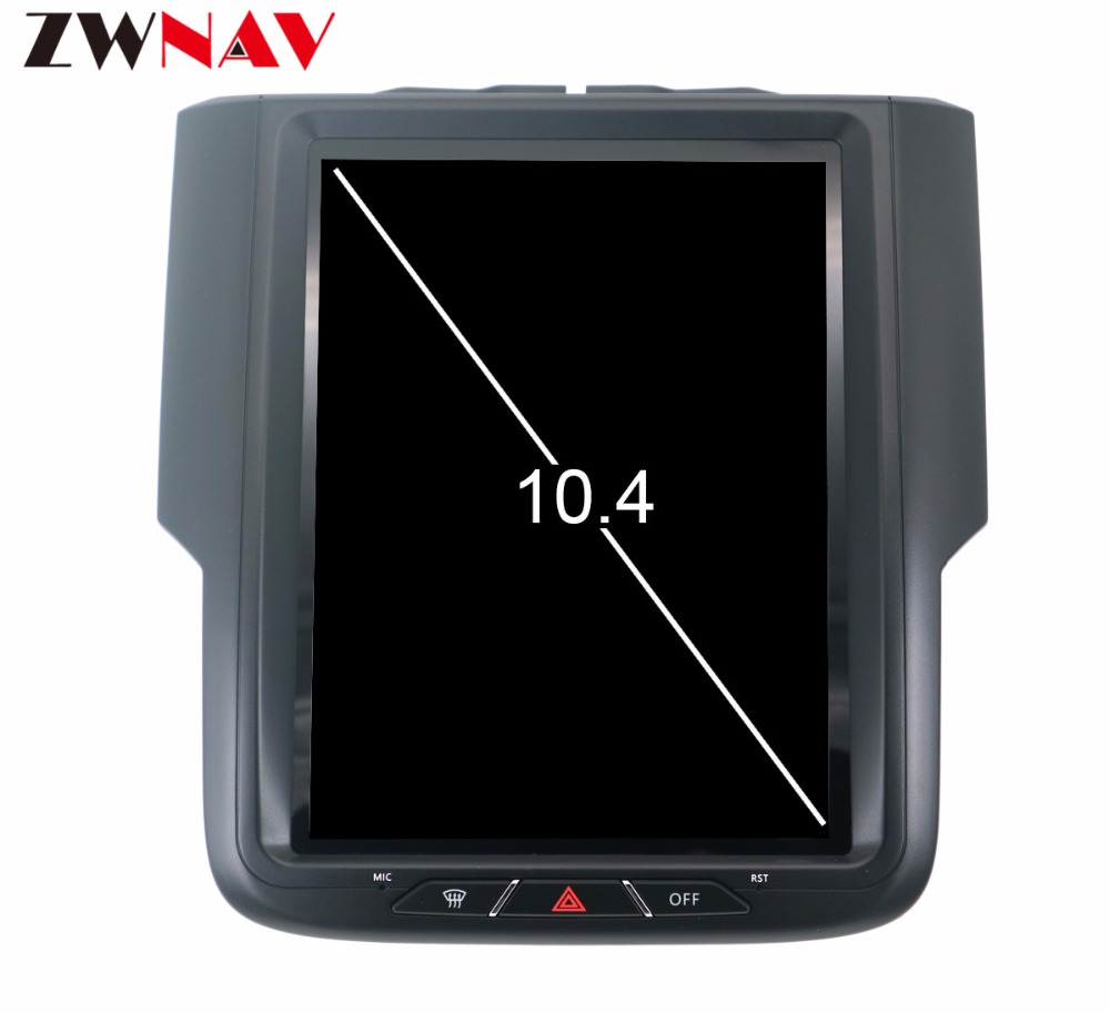Tesla Style 10 4 Big Screen Android 7 1 Car Gps Navigation