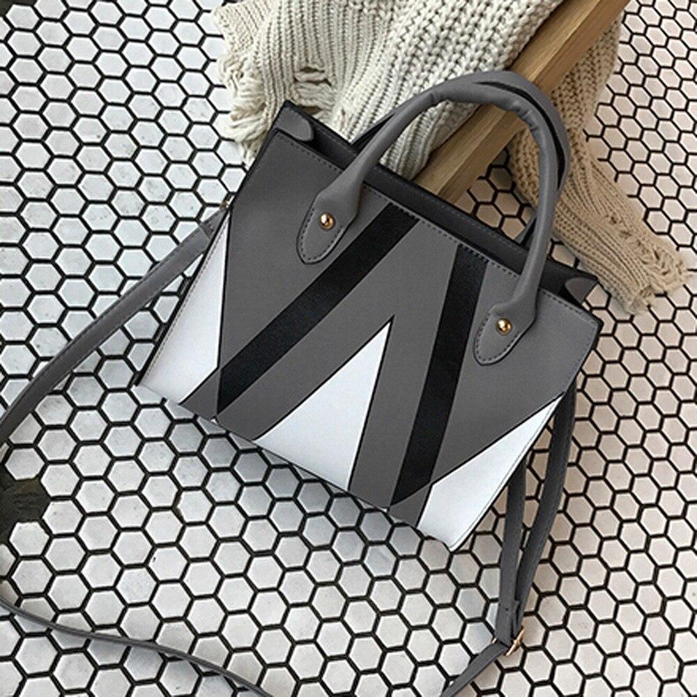 Woman Bag Leather Tote Casual Crossbody Handbag Shoulder Taschen Women Bolsa Masculina Sac Femme Sac Bandouliere Femme