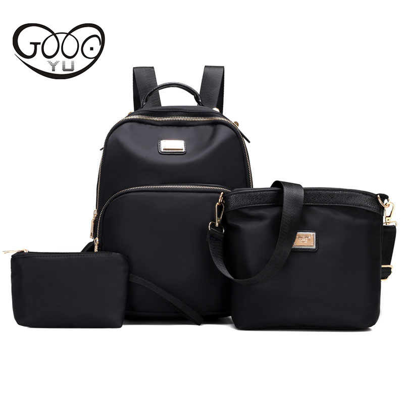 GOOG YU Female Casual Travel Bag Ladies mochila feminina Women Backpacks Waterproof Nylon Student School