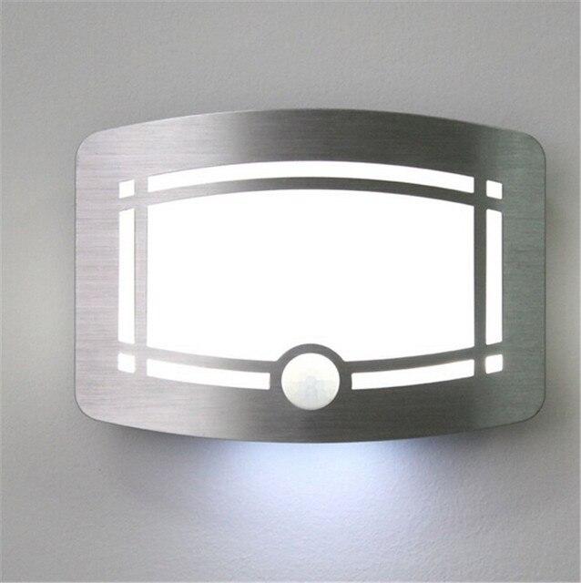 Free Shipping Home Led Night Light Wireless Stick Anywhere Battery Ed Motion Sensor Lights Closet Hot