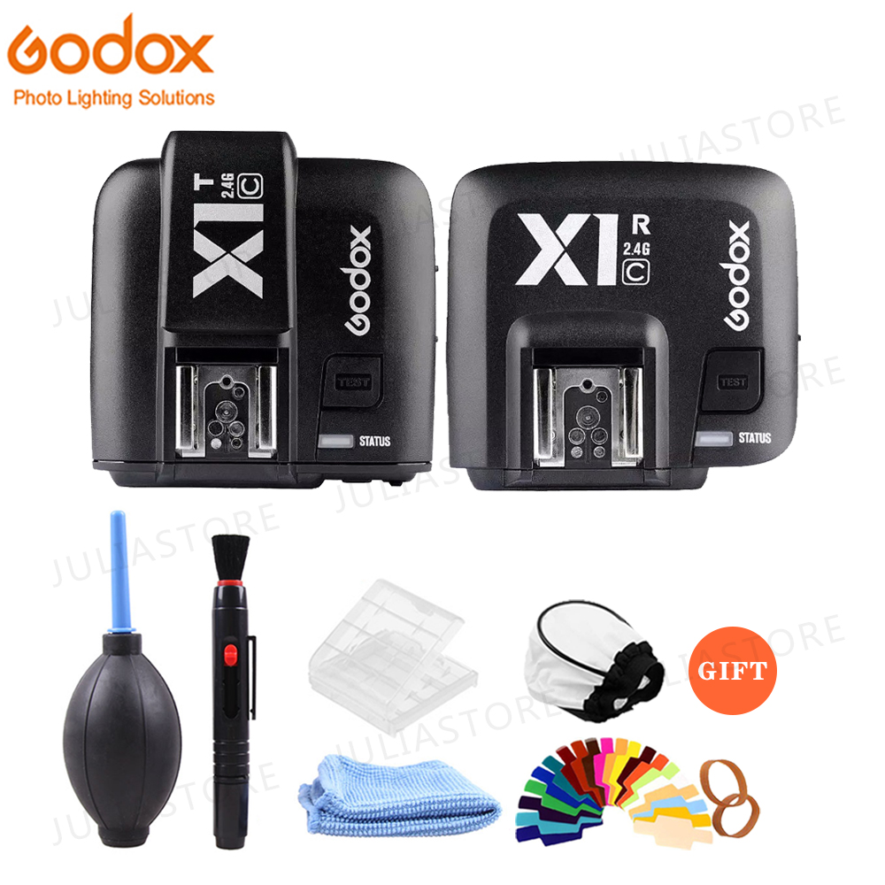Godox X1C E TTL 2 4G Wireless Flash Trigger For Canon EOS DSLR 6D 7D 60D