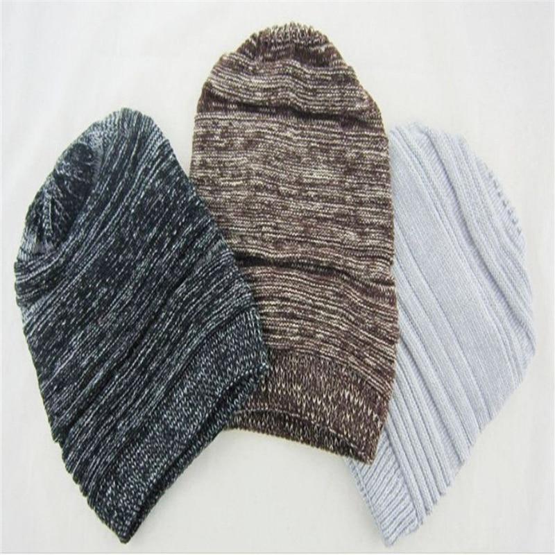 2017 Brand Beanies Knit Autumn Winter Hats For Men Women Beanie Men's Hat Caps Bonnet Outdoor Ski Sports Warm Baggy Cap 4Colors