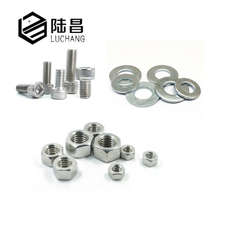 310 PCS M2.5 Stainless Steel Hex Socket Head Cap Screw Assortment