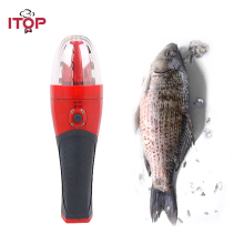 Fish Scale Scraping Machine Rechargeable Electric Scraping Fish Scales Machine Kitchen Scaling Fish Tool Cordless Fishing Scaler electric fish scaler fish scales removing and scraping machine