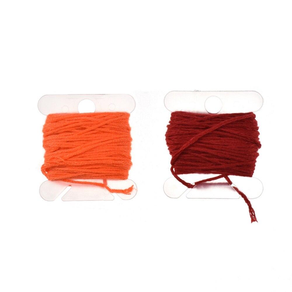 96 шт. вышивка нить вышивка крестом Набор с Threader бобины для шитья иглы коробка для хранения вышивка стартер швейные инструменты