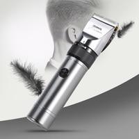 Riwa Rechargeable hair clipper Professional 4 guide combs aluminum 100 240V haircut machine hair trimmer Hair Shaver For Men