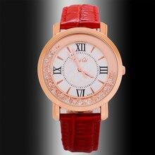 Tremendous Sale Girls Watches High Model Style Quartz Watch Real Leather-based watch Girls relogio feminino