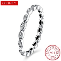 925 Sterling Silver Inlay Zirconia Love Eye Finger Rings For Women 2018 Fashion Jewelry Valentine S