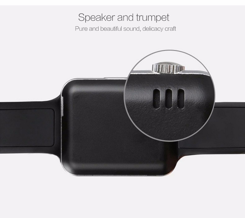 Smartwatch with high quality speaker
