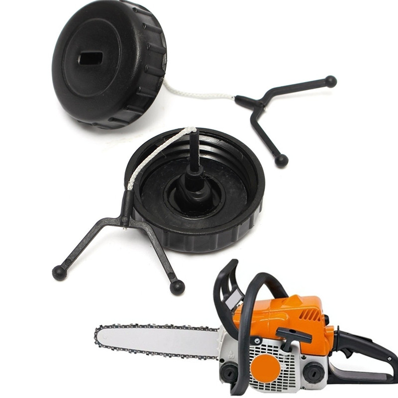 2pcs/Set Gardening Chain Saw Gas Petrol Fuel Oil Tank Fillter Cap Tank Cap Replacement For STIHL 017 018 MS170 MS180