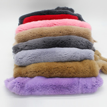 Natural Leather Accessories Rex Rabbit Hair Wool Fur Raw Whole Diy Garment Scarf Knee Mobile Phone Shell