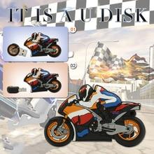 pen drive car USB Flash Drive Memory Stick/thumb 4gb 8g 16g 32g 64g motorcycle flash Pendrive U Disk external storage 16 gb