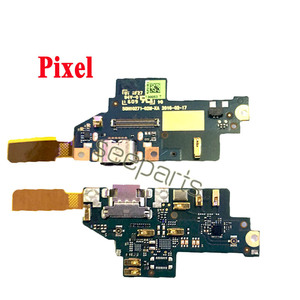 Image 2 - 100% اختبار لجوجل بكسل 2 بكسل 2XL حوض شحن USB ميناء الكابلات المرنة استبدال جوجل بكسل 3 4 XL USB شحن المجلس