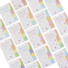 Cute Rainbow Colored Sticky Notes N Times Sticker Memo Pad Note Bookmark Marker Home Office School