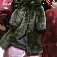 Faux Fur Coat 2018 Autumn CHEAPEST Fluffy Long Fur Coat Fake Fur Jacket Shaggy Cardigan F0126 3 Colors Covered Buttons