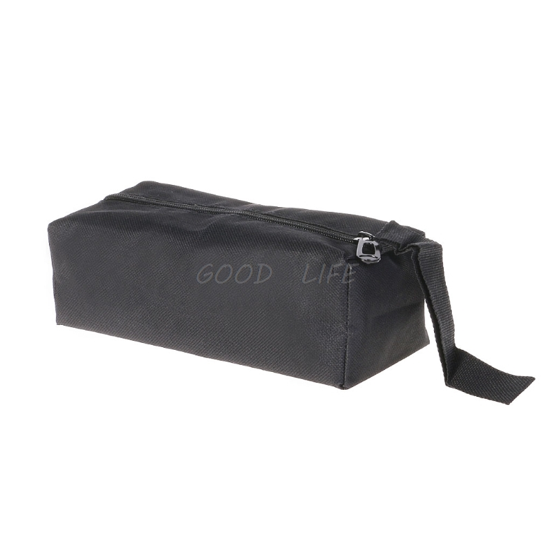 Waterproof Oxford Canvas Tool Bag Screw Nails Drill Bit Metal Parts Storage Case