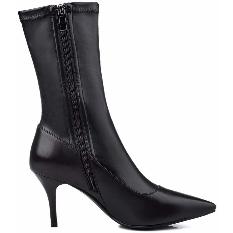 Black 41 Mode Femme white Hauts 42Y0123015q Bottes Moto Femmes Chaussures Pour Cheville Mince Grande Plate forme Taille Gilola Talons mN8wn0
