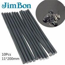 JimBon 10/20/50 шт 11 мм* 200 мм черный горячего расплава клей-карандаш для клеевого пистолета авто инструменты для ремонта автомобиля вмятин безболезненные удаление ручного инструмента