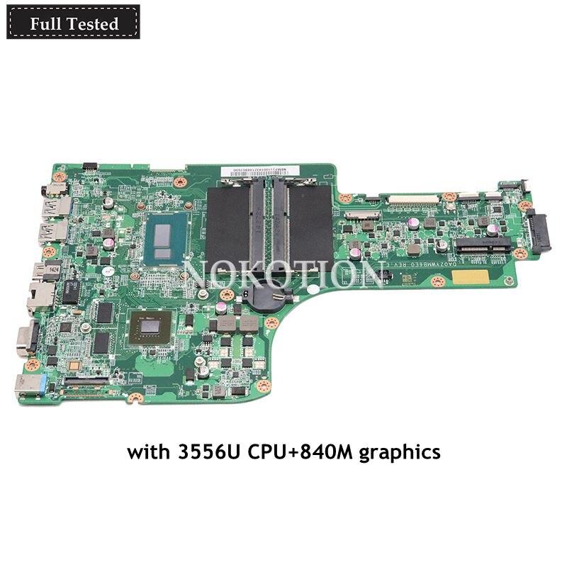NOKOTION laptop motherboard For font b acer b font Aspire E5 771G main board NBMP711001 NB