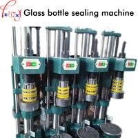 1 stück HG-4 Glas flasche abdichtung maschine 370 watt halbautomatische capping maschine flasche capping saeling maschine 220/380 v