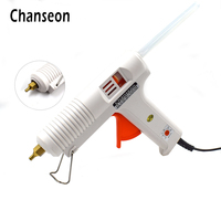 Chanseon Hot Melt Glue Gun 150W Smart Adjustable Temperature Copper Nozzle Heater Heating 100 220V 1PC