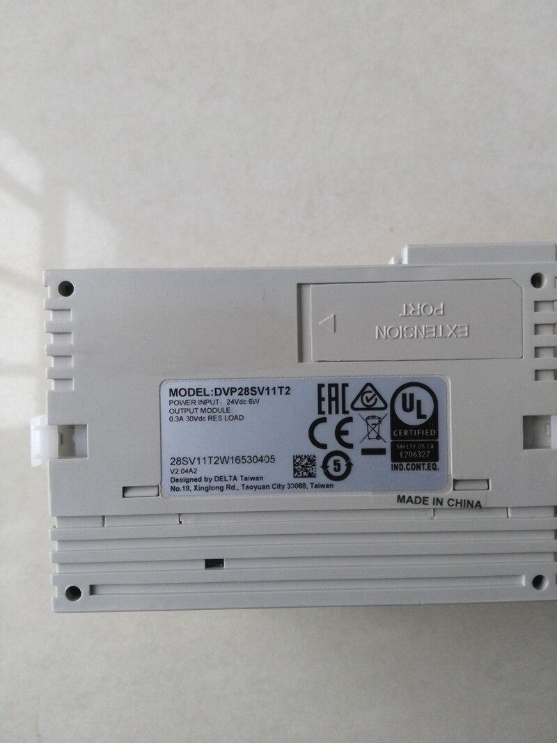 New Original DVP28SV11T2 DC24V PLC 16DI 12DO transistor 1746 ib16 plc 10 30 dc sink 16 number of inputs new original