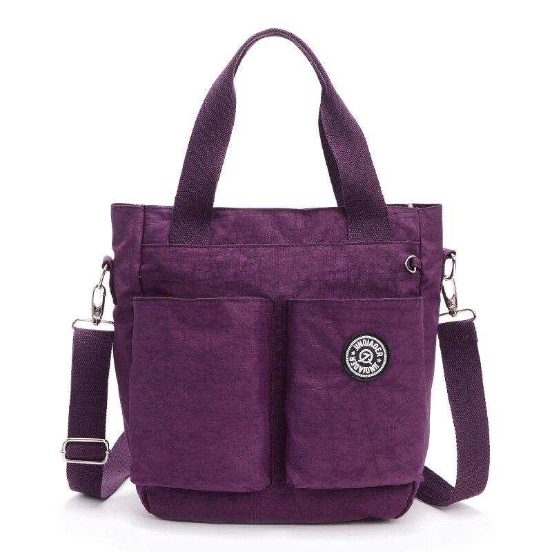 Women Nylon Waterproof Shoulder Bag luxury handbags women Messenger Bags designer Multifunction Zipper Travelbag 6
