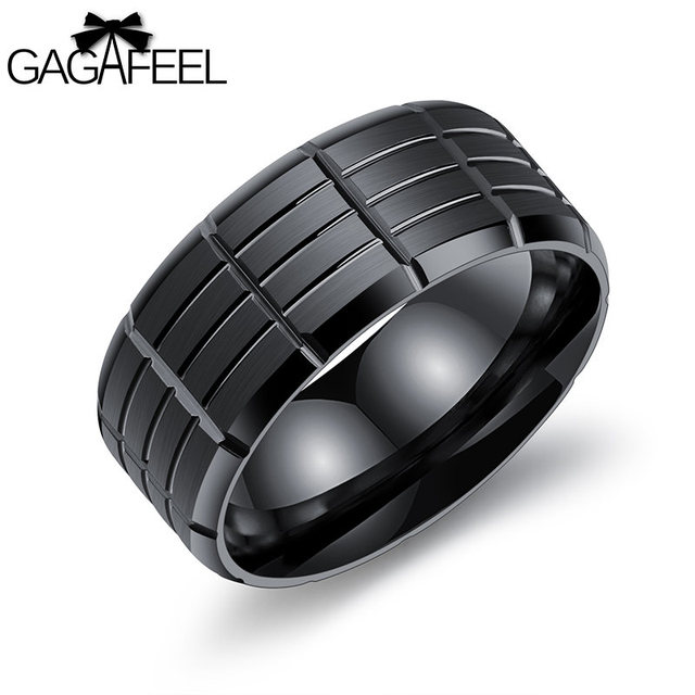 Gagafeel Vintage Engraving Customized Logo Rings For Men Jewelry ...