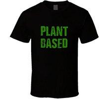 """Plant Based"" Vegan men's t-shirt"
