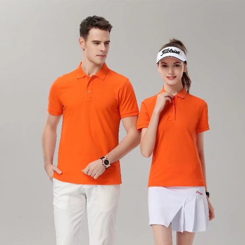 2019 New GolfRun Fitness Volleyball Polo Shirt Men Summer Sport Golf Short Sleeve Sportswear Man woman universal polo 7988