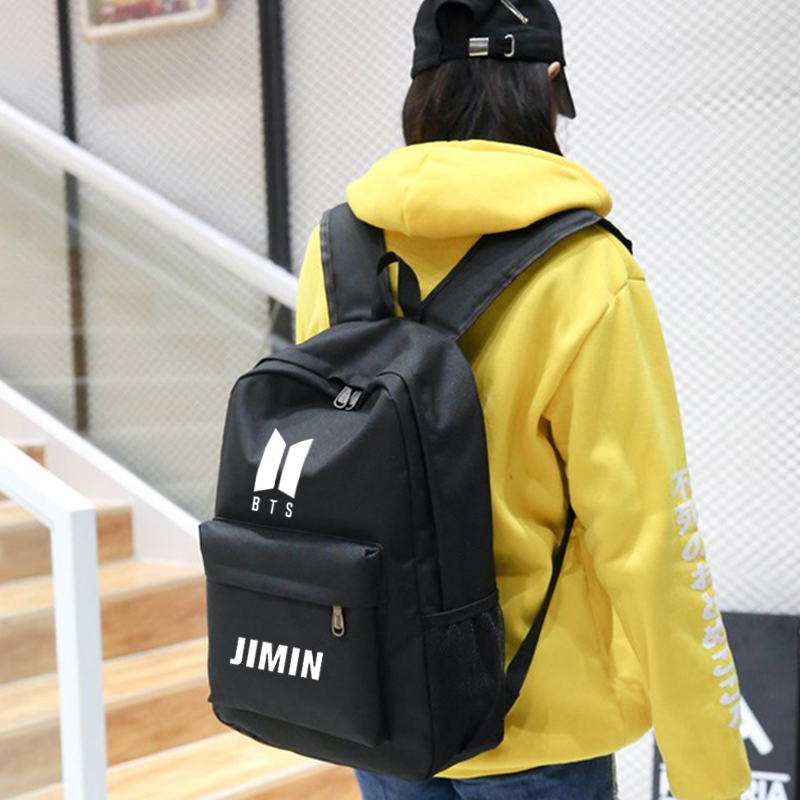 Luggage & Bags New Bts Bangtan Boys Love Yourself Answer Jungkook Jimin Same Students Cool Shopping Travel Bag Backpack Harajuku Canvas Bag