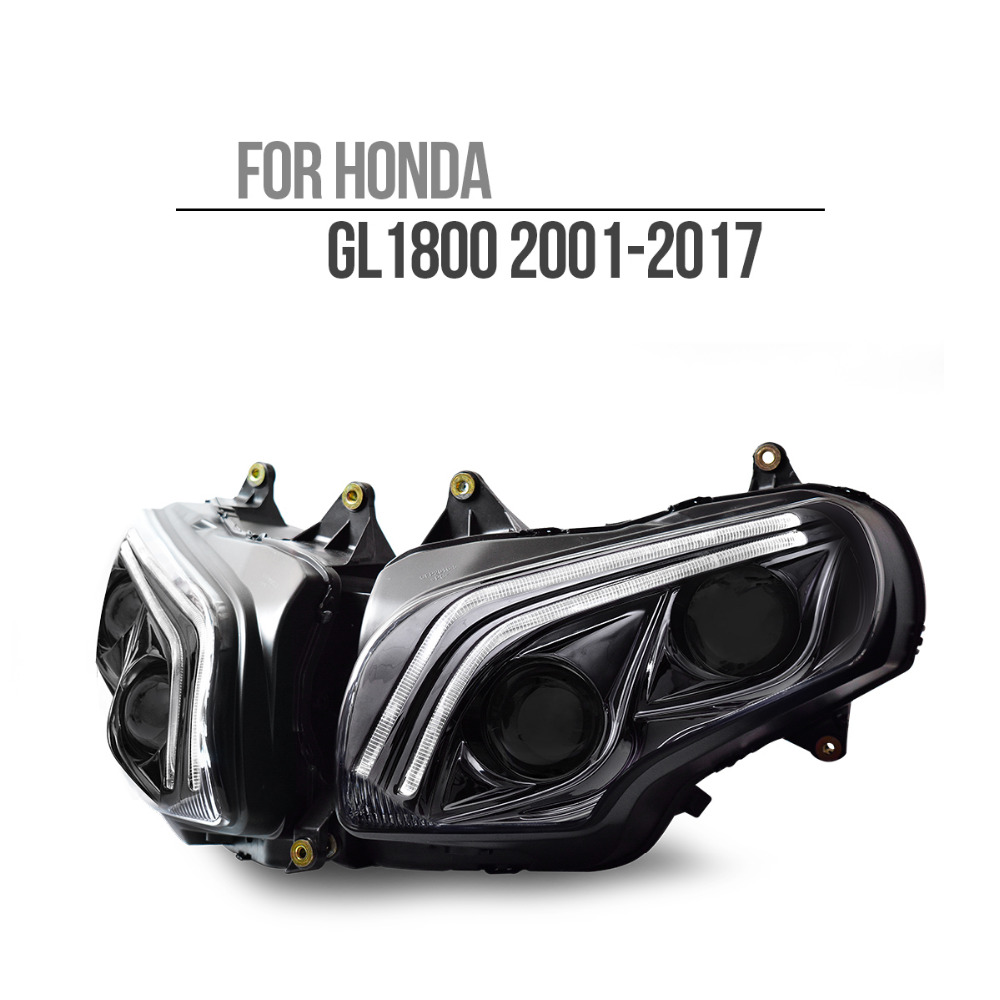 KT HA CONDOTTO il Faro per Honda Goldwing GL1800 2001-2017 V2