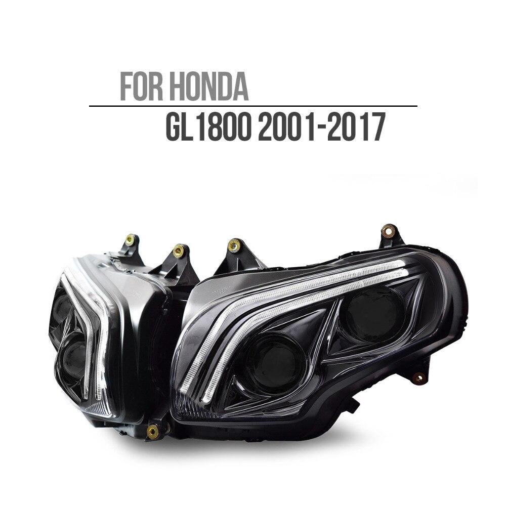 KT LEVOU Farol para Honda Goldwing GL1800 2001-2017 V2