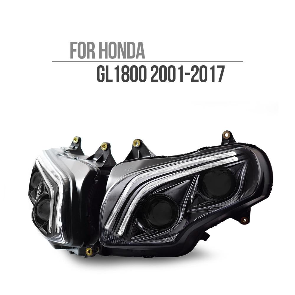 KT LED Phare pour Honda Goldwing GL1800 2001-2017 V2