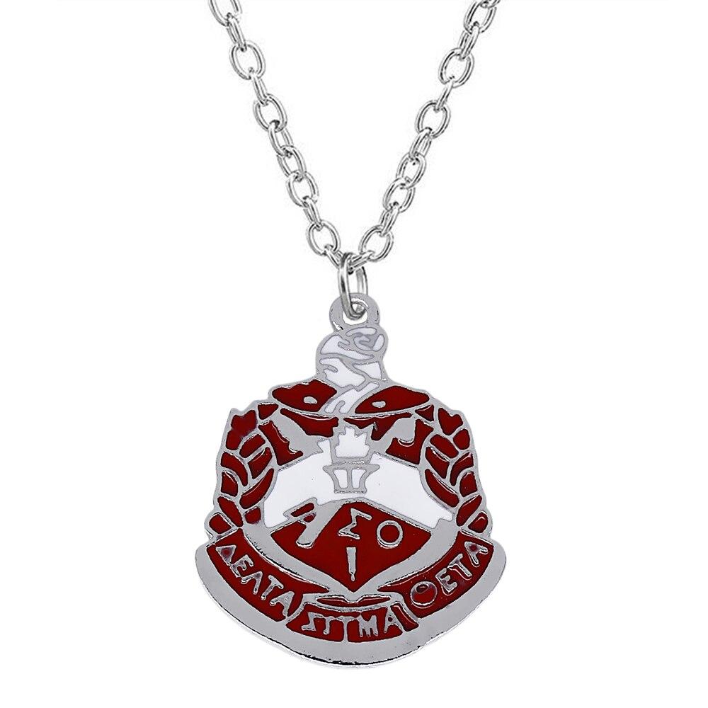 Exquisite Enamel Metal DELTA SIGMA THETA Badge Pendant ...