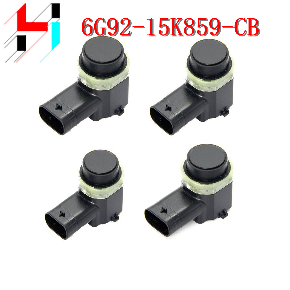 4pcs Parking Sensor PDC For Ford Mondeo S MAX 06 2011 6G92 15K859 AA 6G92 15K859