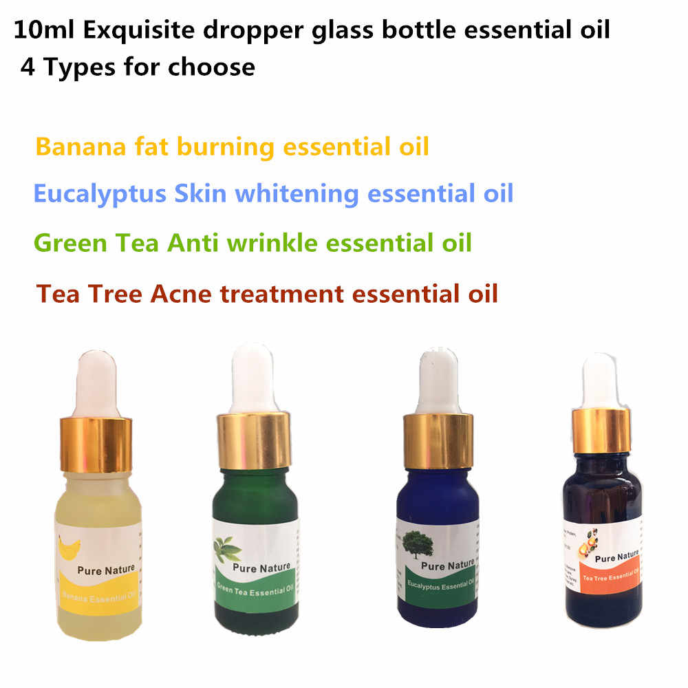 Chinese Herbal Banana and Ginger Essential oil Navel Slimming Patch Powerful 10ml/bottle Slimming Products