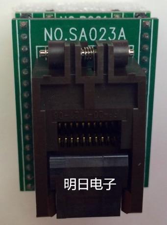 Free shipping     SA023A SOP20 programmer burn adapter seatFree shipping     SA023A SOP20 programmer burn adapter seat