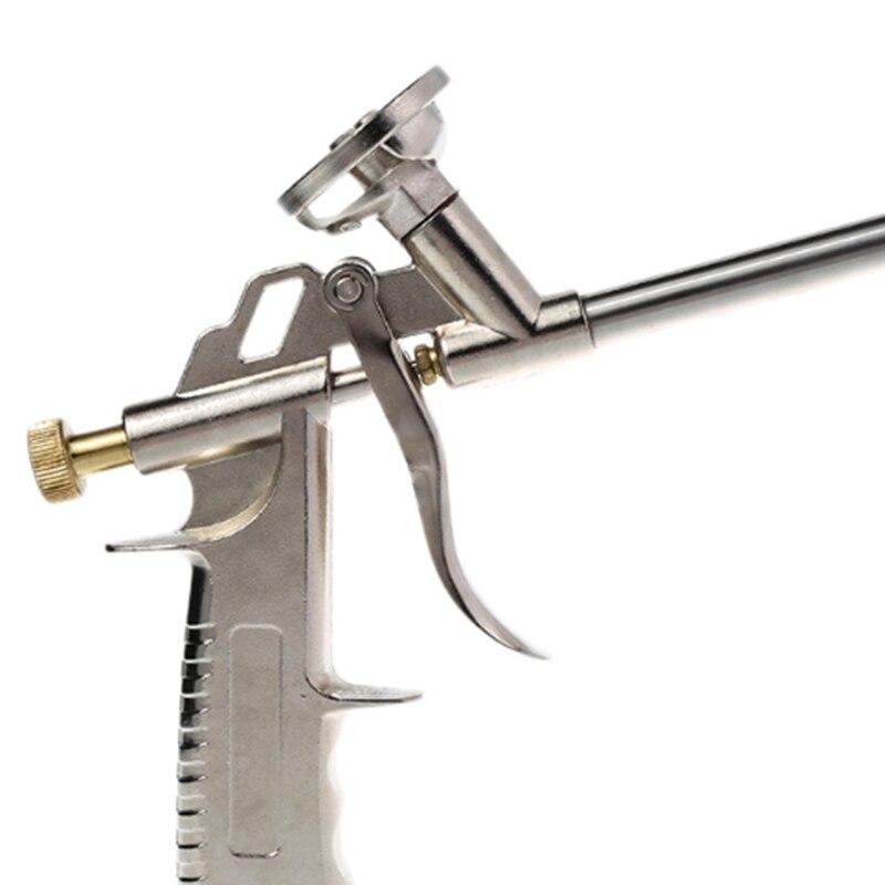 A-130 Nützliche Legierung Schaum Ausbau Spray Gun Dicht Abgabe PU Isolierende Applikator Werkzeug Blase Kleber Gun Werkzeug