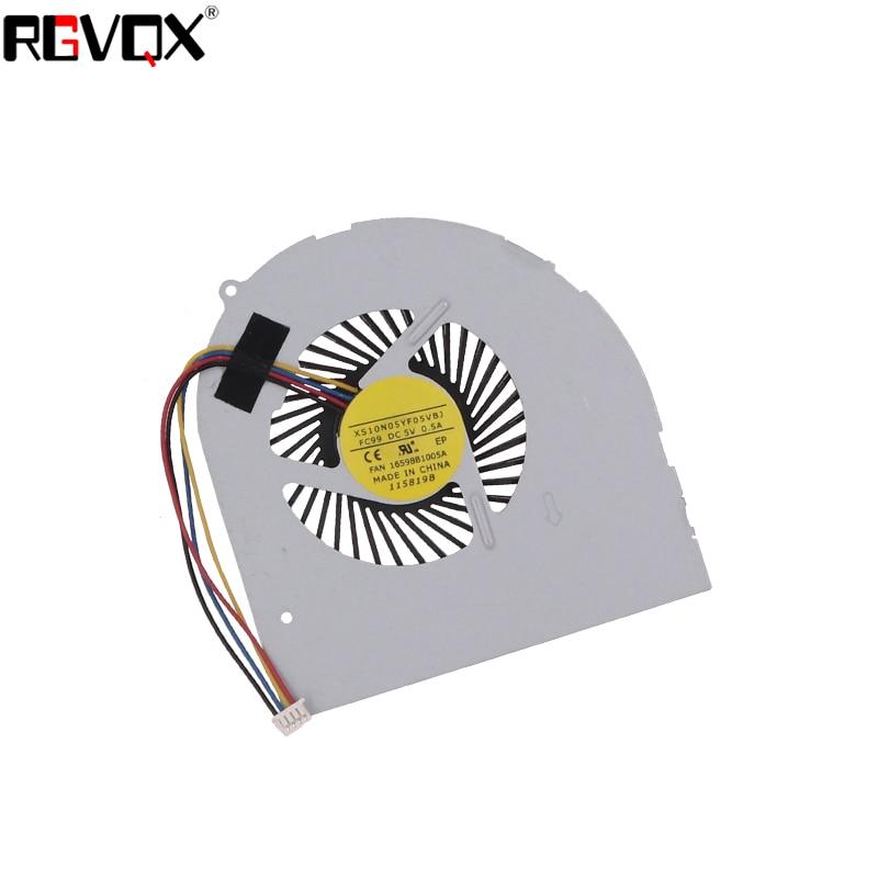 Купить с кэшбэком New Laptop Cooling Fan For LENOVO Y480 Y480A Y480M Y480N Y480P MG75150V1-C000-S99 MG60120V1-C160-S99 Replacement Cooler