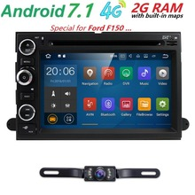 7'2 din Android 7.1 Car multimedia player For Ford F150 Mustang Expedition Explorer Fusion 2006 2007-2009 radio GPS Navigation
