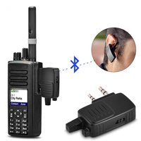 For Baofeng Walkie Talkie USB Bluetooth Adapter Dongle BF 666s BF 480 Two Way Radio Bluetooth